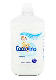 Coccolino aviváž 72 dávek Sensitive 1,8 l