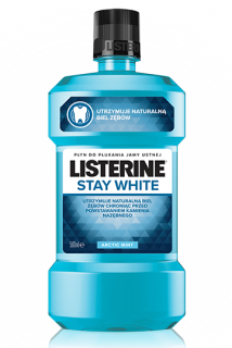 Listerine ústní voda 500 ml Stay White