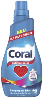 Coral gel 22 pracích dávek Optimal Color 1,1 l
