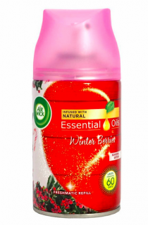 Air Wick Freshmatic náplň 250 ml Essential Oils Winter Berries