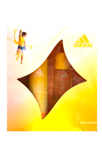 Adidas dárková kazeta Free Emotion Women 30 ml EDT + deospray 150 ml
