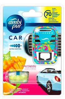 Ambi Pur Car osvěžovač vzduchu do auta 7 ml Fruity Tropics