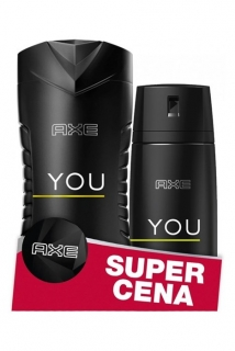 Axe duopack You (deospray 150 ml + sprchový gel 250 ml)