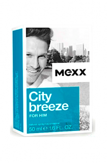 Mexx voda po holení 50 ml City Breeze