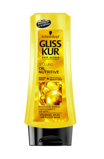 Gliss Kur balzám na vlasy 200 ml Oil Nutitive