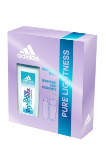 Adidas dárková kazeta Pure Lightness (deospray 150 ml + DNS 75 ml)