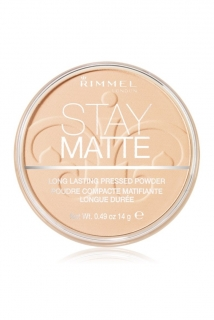 Rimmel pudr 14 g Stay Matte 001 Transparent