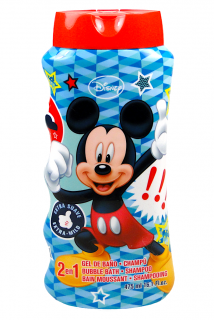 Disney 2v1 pěna do koupele + šampon 475 ml Mickey Mouse