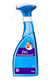 Mr. Proper čistič skla 750 ml P&G Professional
