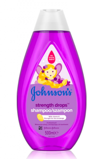 Johnson´s šampon 500 ml Strenght Drops