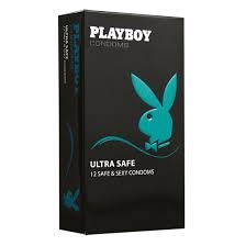 Playboy kondomy 12 ks Ultra Safe